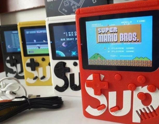 Mini game retrô Nintendo 400 jogos + player 2 - Foto 2