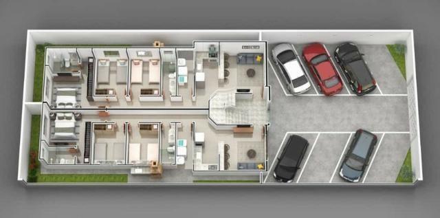 Apartamento em Ipatinga. Cód. A202. 3 quartos/suíte, sacada gourmet, 90 m². Valor 250 mil - Foto 3