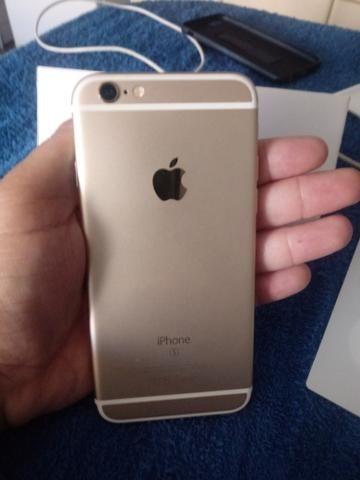 Iphone 6s dourado - Foto 5