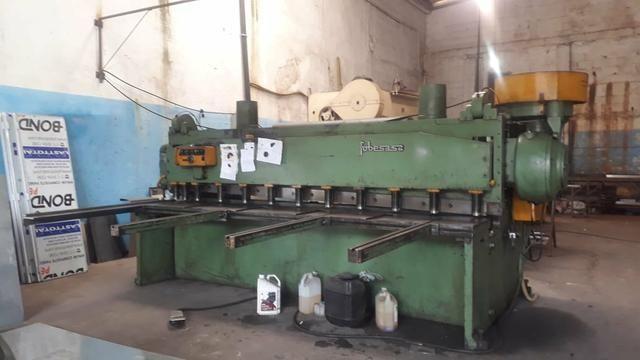 Maquina de corte e dobra de chapa as duas por 88.000 - Foto 4