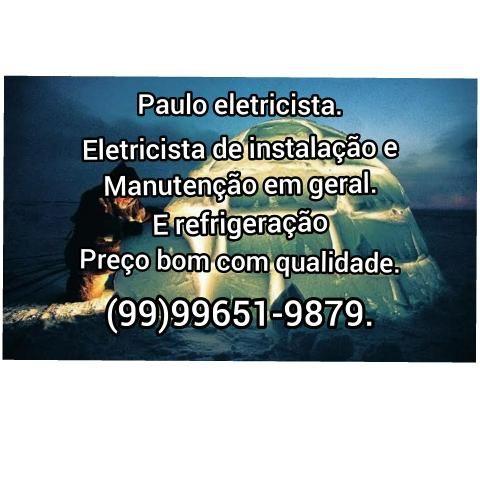 Serviço elétricos e refrigeração