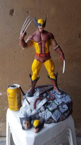 Estátua Wolverine peça de coleção