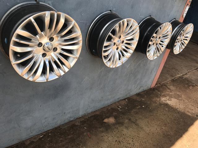 Roda aro 15 esportiva 4 furos - Foto 2