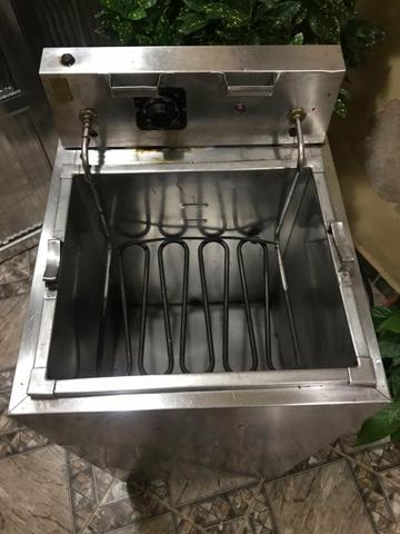 Fritadeira 25 litros água e óleo inox - Foto 2