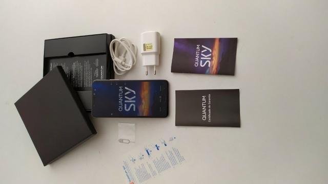 Smartphone Quantum Sky 4g 64 Gb Cinza - Foto 2