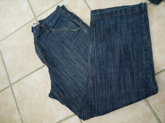 Calça jeans masculina 52