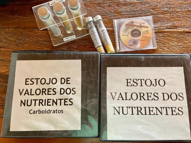 Kit de estojos de valores de Nutrientes