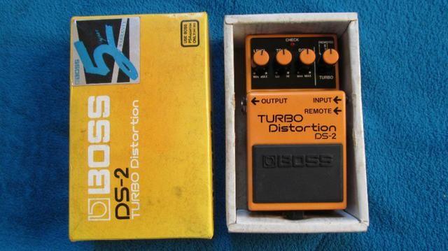 Pedal Boss Turbo Distortion DS-2 semi-novo! - Foto 3