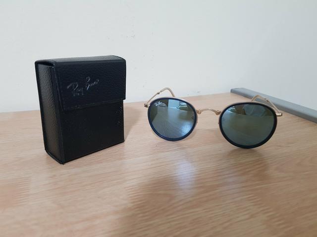 Óculos Ray Ban Round - Bijouterias, relógios e acessórios - Mansões ... db5e0b7e88