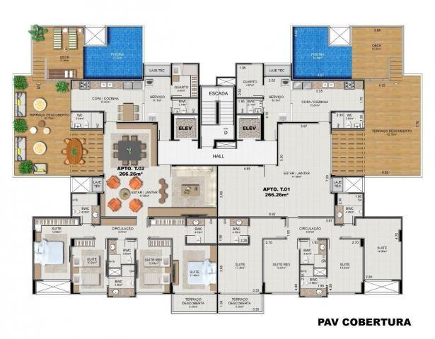 Apartamento à venda com 4 dormitórios em Ponta verde, Maceió cod:AP00001 - Foto 16