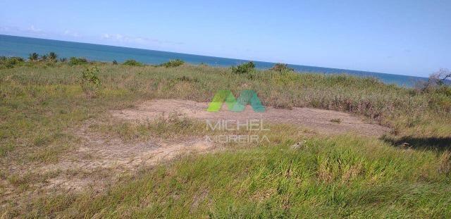 Terreno de 14.000m² - frente para o mar - cumuruxatiba - bahia - Foto 4