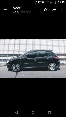 Carro Peugeot 206 1.6 super econômico