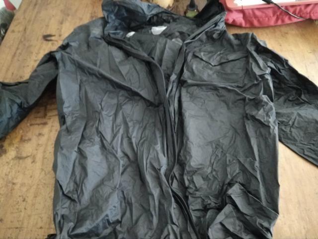 Casaco e calça quebra vento motoqueiro - Foto 2