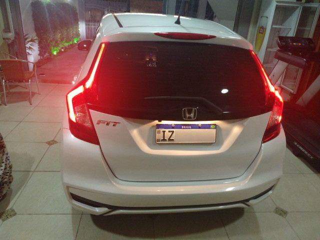 Honda Fit EXL 2019 unica dona Igual a zero - Foto 6