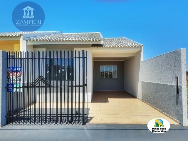 Casa Nova com 63 m² no Jardim Maranata em Iguaraçu, PR