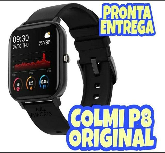 Relógio inteligente smartwatch Colmi p8 original pronta entrega!