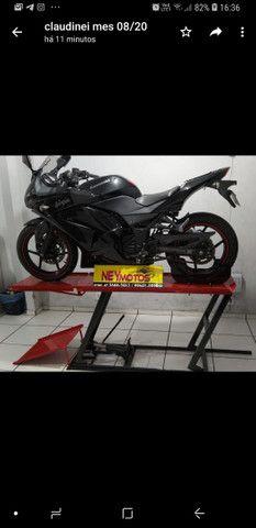 Elevador para motos 350kg FABRICA ** Plantão 24h zap  - Foto 11