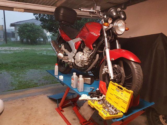 Elevador para motos 350kg FABRICA ** Plantão 24h zap  - Foto 3