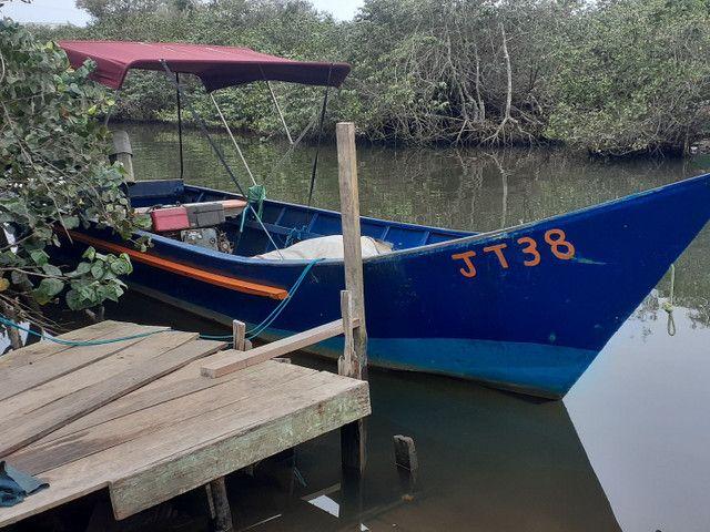 Bote barco de pesca