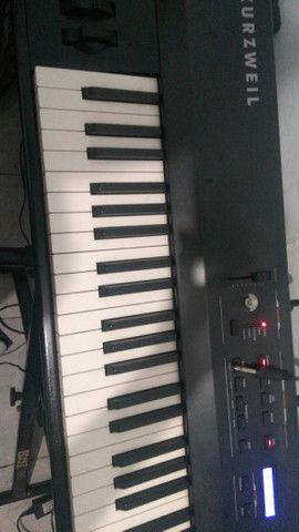 Teclado  e piano   kuzwail SP 48     valor 3200 - Foto 3