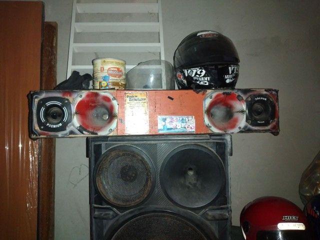 Duas caixa de som grande  - Foto 3