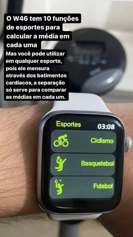Smartwatch 44mm - Carregamento S/ Fio - Foto 4