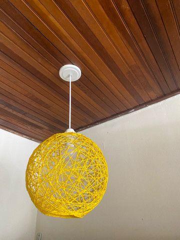 Luminária estilo bola - Foto 3