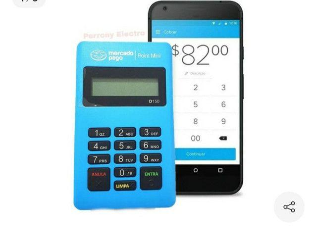 Maquininha de  cartão poin mini via Bluetooth