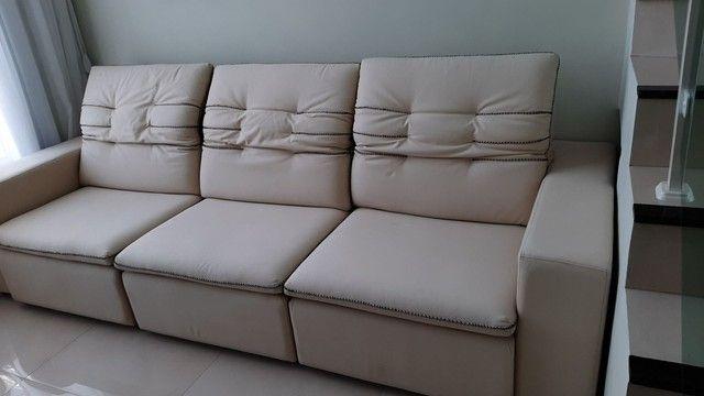 Sofá grande retrátil e reclinável  - Foto 2