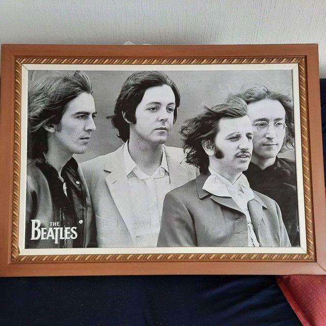 Quadro dos Beatles lindo e enorme