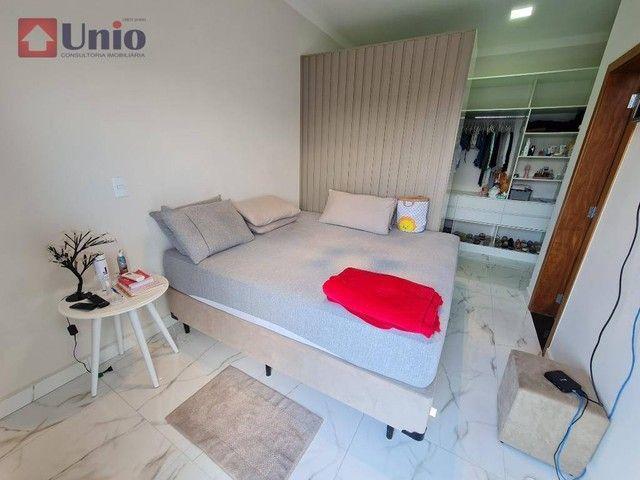 Casa com 3 dormitórios à venda, 207 m² por R$ 1.350.000,00 - Loteamento Residencial e Come - Foto 17