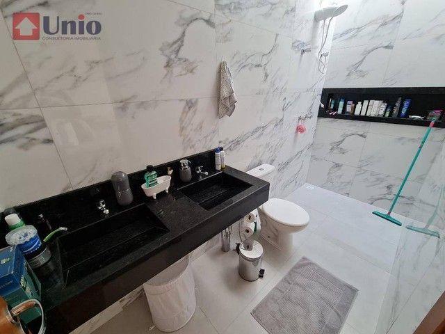 Casa com 3 dormitórios à venda, 207 m² por R$ 1.350.000,00 - Loteamento Residencial e Come - Foto 19