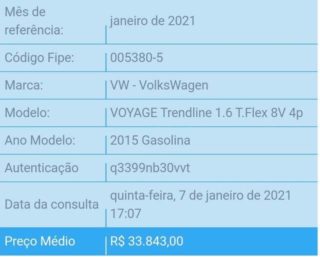 Voyage Trendline 2015 1.6 Completo - Foto 5