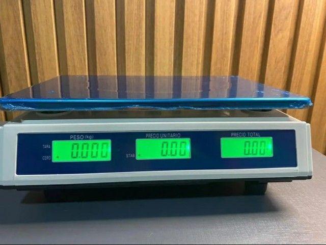 Balança digital eletrônica 40 kg - Foto 2