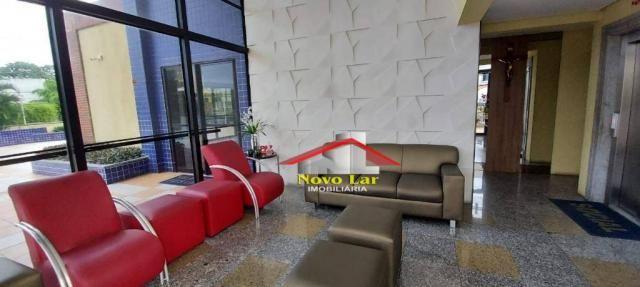 Apartamento com 3 dormitórios para alugar, 113 m² por R$ 1.800,00/mês - Fátima - Fortaleza - Foto 13