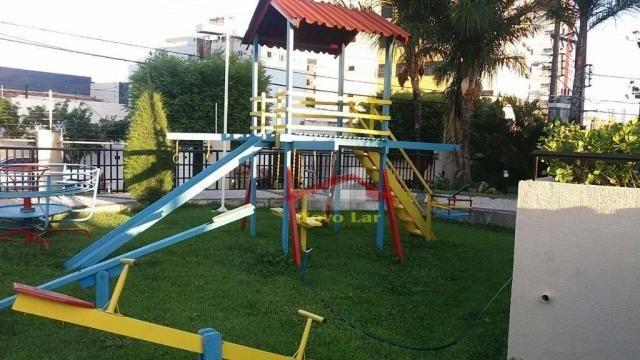 Apartamento com 3 dormitórios para alugar, 113 m² por R$ 1.800,00/mês - Fátima - Fortaleza - Foto 8