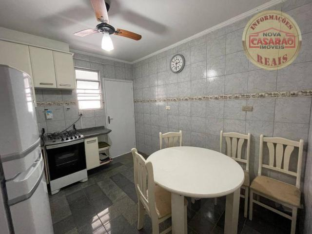 Apartamento com 2 dormitórios à venda, 72 m² por R$ 330.000 - Guilhermina - Praia Grande/S - Foto 8
