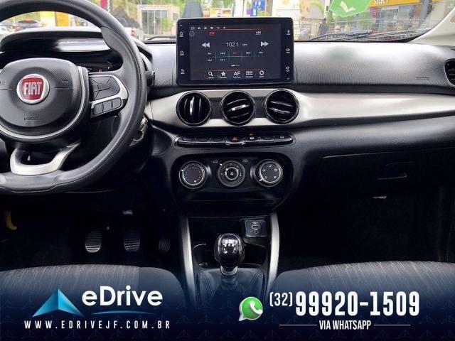Fiat Argo Drive 1.0 6V Flex - IPVA 2021 Pago - 4 Pneus Novos - Sem Detalhes - 2020 - Foto 14