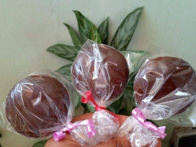 Pirulito de chocolate  - Foto 2