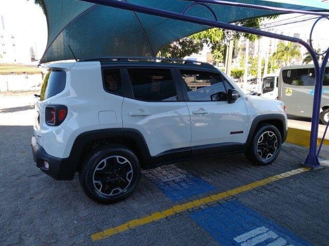 Jeep Renegade Trailhawk 2.0 turbo diesel 4x4 automático particular muito novo - Foto 4