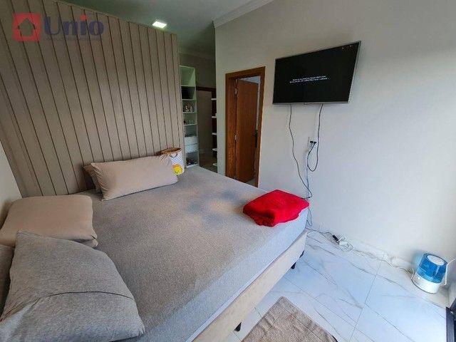 Casa com 3 dormitórios à venda, 207 m² por R$ 1.350.000,00 - Loteamento Residencial e Come - Foto 18