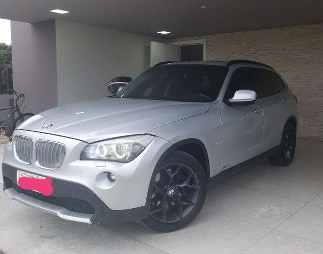 Bmw X1 , 4x4 , aceita troca maior valor BMW X5, GLC 250, Range Rover , Audi,Cayenne - Foto 11