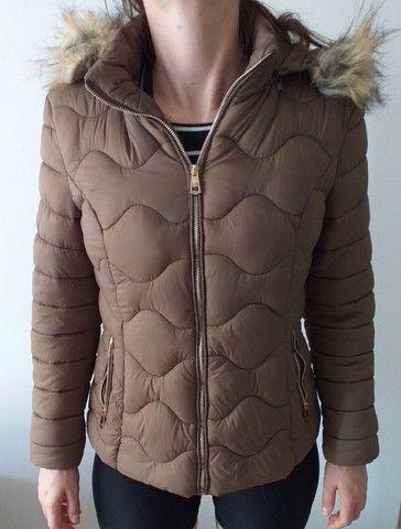 Vendo Jaqueta feminina marrom tamanho M - Foto 2