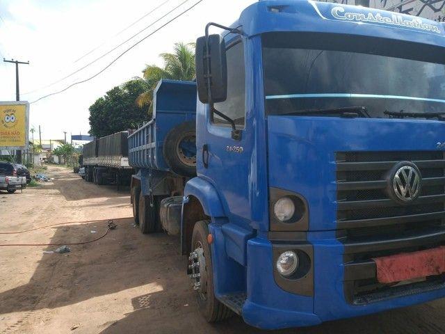 Vendo esse caminhão/caçamba  - Foto 2