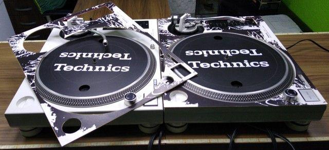 Par de Toca Discos Technics Mk3d Customizadas Em M5g super novas único dono. - Foto 5