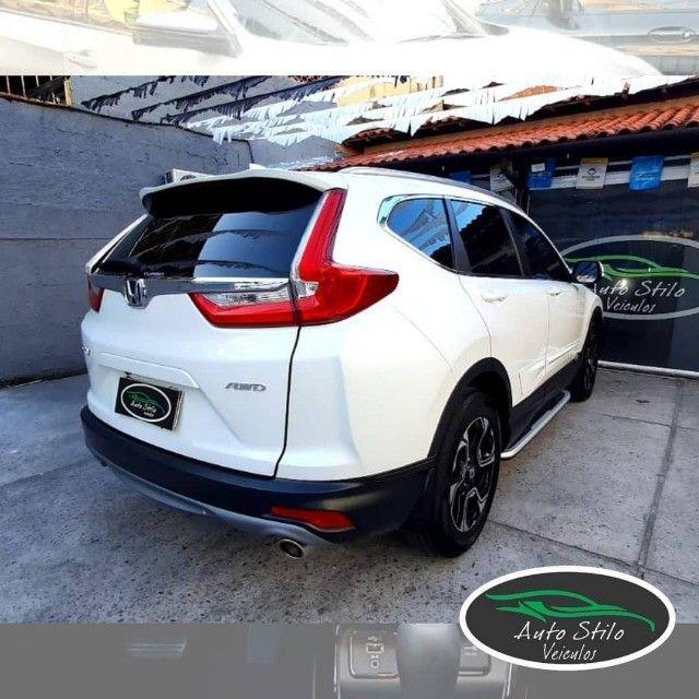 Honda CR-V Touring 2019 Branco Completo  - Foto 9