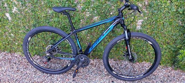 Bicicleta aro 29 first, com cambios Shimano tourney, first mais barata do brasil - Foto 6