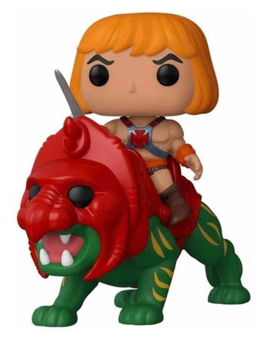 Funko Pop! Rides Masters of The Universe: He-Man on BattleCat #84 - Foto 2