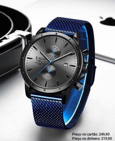 Relógio Masculino Luxuoso Super Premium