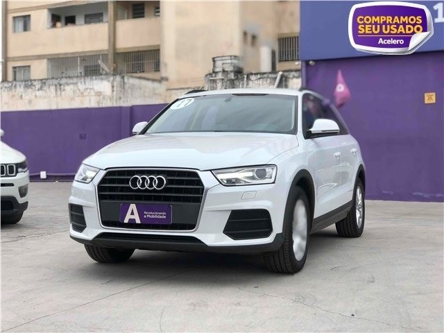 Audi Q3 1.4 Tfsi ambiente gasolina 4pstronic branco 16/17 R$111.300,00 km 95.684*Jéssica*